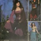 Elaine Heigl Misses Gypsy Costume Simplicity 4484 Pattern Plus Sz 14 to 20 Uncut