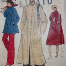 Vintage 70s Vogue 9381 Womens Flared Coat, Plus Size 22 1/2, Uncut