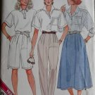 Easy Misses Skirt,Pants,Shorts Butterick 4860 Pattern,  Sz 8 10 12,  UNCUT
