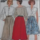 Easy Misses Skirt and Culottes Butterick 3237 Pattern,  Sz 8 10 12,  UNCUT