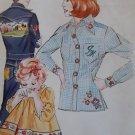 Vintage Kwik Sew 614 Embroidery Transfer 48 designs Pattern,UNCUT