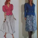 Simplicity 7369 Misses' Skirt and Blouse Pattern, Plus Sizes 10, 12, 14, 16, 18 UNCUT