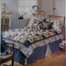 OOP McCall's 788 or 8704 Puff Quilt and Accessories Pattern, Twin to King, Uncut