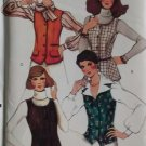Simplicity  8868 Misses Skirt, Pants, Lined Vest, & Unlined Jacket Pattern, Size 16, Uncut