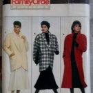 Butterick 4039 Sewing Pattern Family Circle Collection Misses Coat , Plus Size L XL, UNCUT