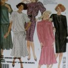 McCalls 9183 Pattern, Misses Dress Top Skirt Scarf, Size 10, UNCUT