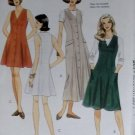 Misses or Petite Dress or Jumper in Three Lengths McCalls 7721 Pattern, Size 12 14 16, Uncut