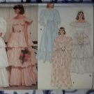 Vintage Butterick 6303 Misses Bridal Dress Pattern, Size 12, UNCUT
