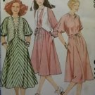 Mccalls 6417 Misses Pullover Dress & Vest Pattern, Size Med, UNCUT