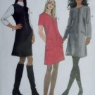 Misses Dress or Jumper McCalls 8398 Sewing Pattern, Size 8 10 12, Uncut