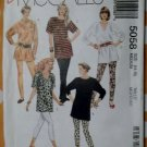 Easy McCalls 5085  Misses Tunic  & Leggings  Pattern, Size 14 16, Uncut