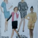 Misses' One or Two Piece Dresses McCalls 5729 Pattern Plus Sz 20 22 24, Uncut