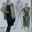 Simplicity 4030 Womans Unlined Jacket, Top, Skirt & Pants, Plus Half size 20 1/2 to 24 1/2, Uncut