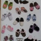 McCalls M 6342, Infants' Shoes  Boots Pattern, Size S to L, UNCUT