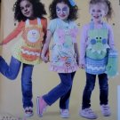McCalls M 6618, Children's Aprons, Mitts and Pot Holders Pattern, One Size, UNCUT