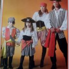 Kid's Pirate Costume, McCalls MP 317 or 4952 Pattern, Size 3-4 to 7-8, Uncut