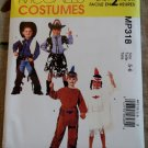 Easy Kid's Indian cowboy Costume, McCalls MP 318 or M 2851 Pattern, Size 5-6, Uncut