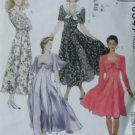 Misses' Dress 2 lengths McCalls 6187 Pattern Plus Sz 20 22 24, Uncut