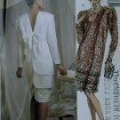 McCalls 4199 Pattern, Misses Eklektic Design Dress with Three Tiers, Size 12, UNCUT