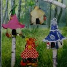McCalls M 6767, Fairy Houses Pattern,  One Size, UNCUT