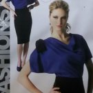 Easy McCalls M6788 Sewing Pattern, Fashion Star Misses' Dress, Plus Size 14 16 18 20 22, UNCUT