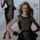 Easy McCalls M 6789 Sewing Pattern, Fashion Star Misses' Dress, Plus Size 16 18 20 22 24, UNCUT