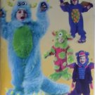 McCalls M 6628 Child's Monster Costumes Pattern, Size 6 7 8, Uncut