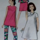 Simplicity 7276  Maternity Dress, Top, Pants & Skirt Pattern,  Size 14,