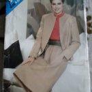 Butterick 5075 Misses Jacket & Skirt Sewing Pattern, Size 8 10 12, Uncut