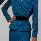Easy McCalls 6514 Pattern Misses' Top & Skirt, Sizes 6, 8, 10, 12, 14, UNCUT