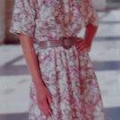 McCalls 596 Pattern Misses' or Petite Dress, Sizes 6, 8, 10, 12, 14, UNCUT