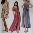 McCalls 7545 Pattern, Misses Loose Sleeveless Dress, Plus Size 20, UNCUT