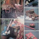 McCall's 8294 Project Tote, Organizer Knitting Needle Scissor Cases  Yarn Holder Pattern, OS, Uncut