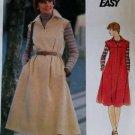 Vintage Butterick 4948 Misses Loose fit dress and belt Pattern, Size 16, UNCUT