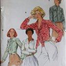 Vintage Butterick 5524  Misses Blouse Pattern, Size 16, UNCUT