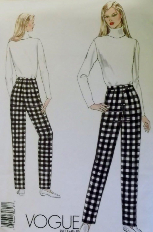Vogue 1003 Misses Fitting Shell Pants Slacks  Pattern  Size 14  UNCUT