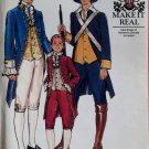 1976 Butterick 4207 Men's Authentic Military & Statesman Costume Pattern Sz 40, Uncut