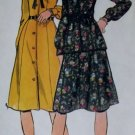 VTG Misses Half Size Dress, Top & Skirt Simplicity 4469 Pattern,  Half size 16 1/2, Uncut