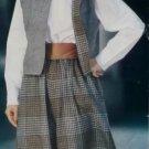 Misses Vest & Culottes Butterick 5214 Pattern 12 14 16, Uncut