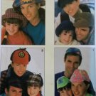 Simplicity 8460 Family Hats in 4 Styles Pattern OS UNCUT