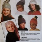 McCalls 6835 Family Hats in 12 Styles Pattern OS UNCUT