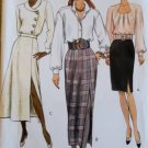 Very Easy Vogue 8427 Misses or Petite A-line skirt Sewing Pattern, Size 8 10 12 Uncut