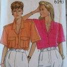 New Look 6143 Misses Blouse Pattern, Sz 8 to 18, Uncut