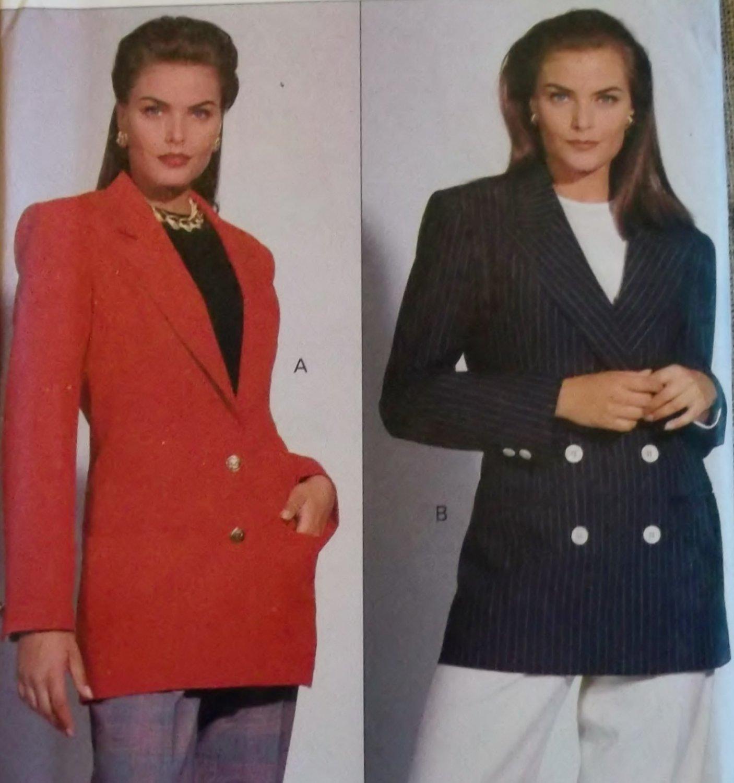 Misses� Jacket, Vogue 8518 Patterns, Sizes 12, 14, 16, UNCUT