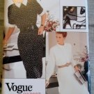 Easy Misses Dress Vogue 7152 Sewing Pattern, Size 6 8 10, UNCUT