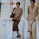 Burda 4141 Sewing Pattern Misses Blazer Skirt,  Plus Size  10 12 14 16 18 20, Uncut