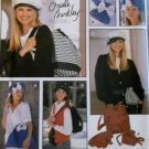 Simplicity Pattern 8911 Christie Brinkley Misses Beret, Backpack, Belt Bag & Belt in 3 Sizes, Uncut