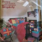 OOP Simplicity 8693 Pattern Bedroom Decor, Uncut