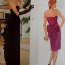 Vintage Sassoon Evening Gown Vogue 1275 Pattern, Size 14, Uncut