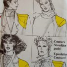 Shoulder Pads, Covers & Sleeve Puff Vogue 8817 Sewing Pattern,  UNCUT